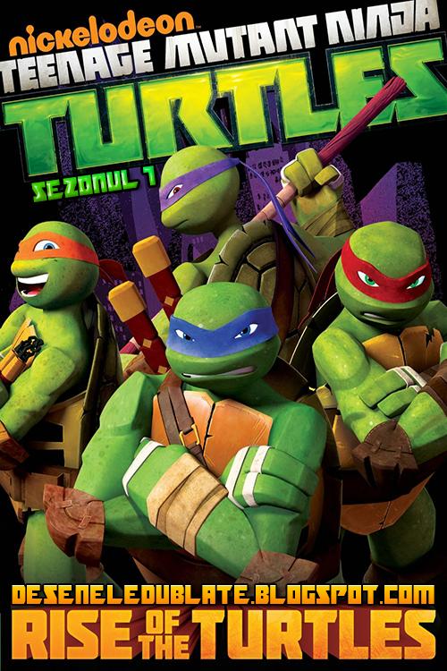 Ţestoasele Ninja Seria Completă Dublată în Română